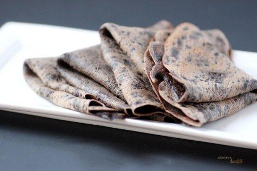 Crepes de chocolate
